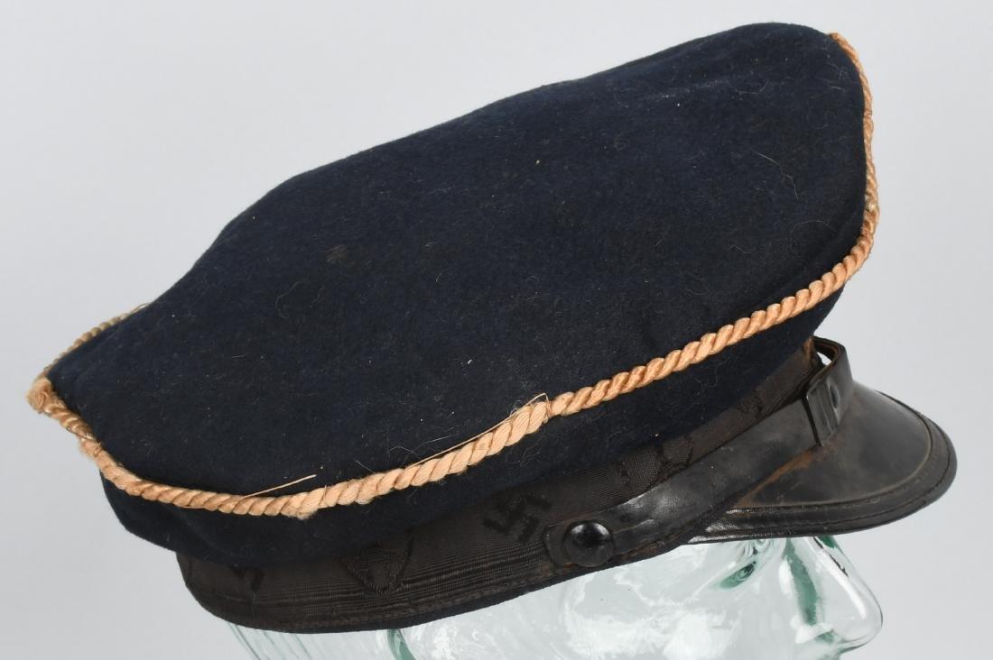 WWII NAZI REICHSKREIGERSBUND VETERANS VISOR HAT - 3