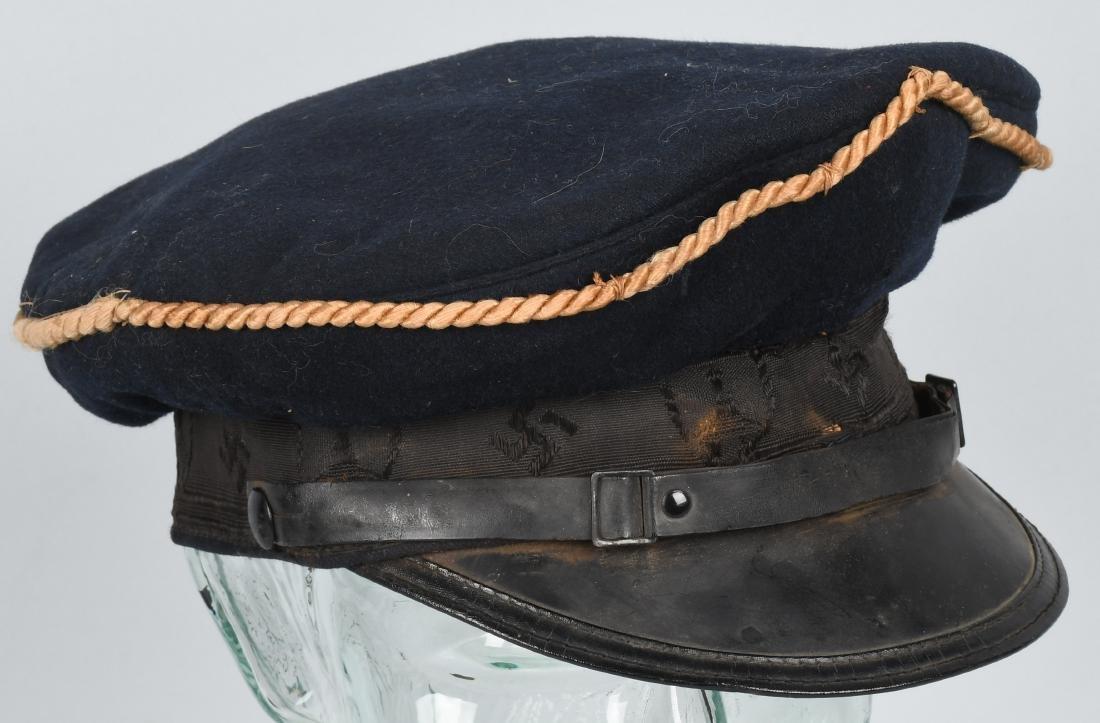 WWII NAZI REICHSKREIGERSBUND VETERANS VISOR HAT - 4