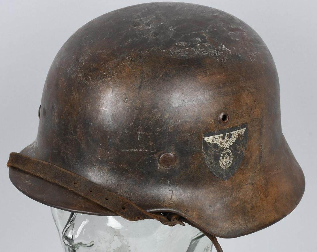 WWII NAZI GERMAN RAD DOUBLE DECAL M 35 HELMET