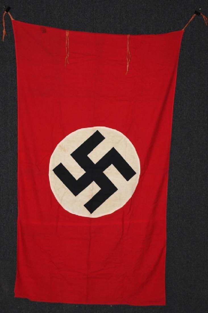 WWII NAZI GERMAN NSDAP FLAG BANNER