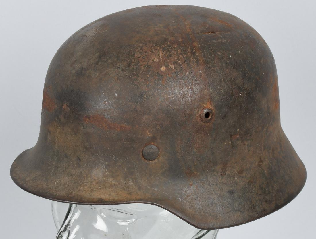 WWII NAZI GERMAN M 35 HELMET STAHLHELM