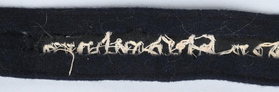 WWII NAZI GESCHWADER HINDENBURG OFFICER CUFFTITLE - 6
