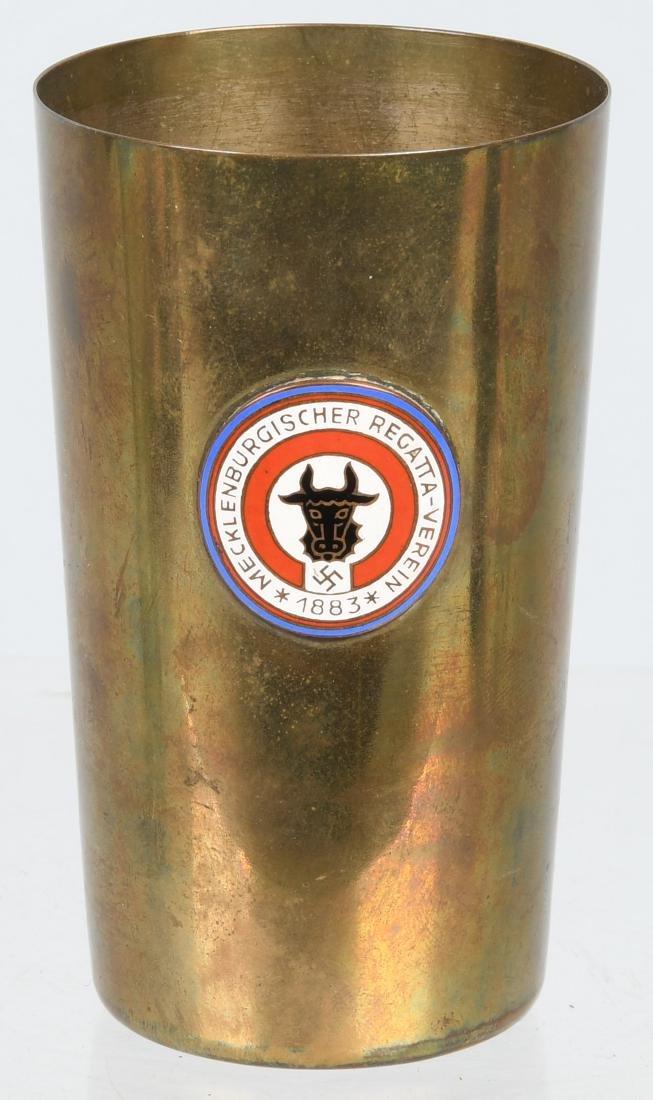 WWII NAZI GERMAN MECKLENBURG REGATTA CLUB 1938 CUP