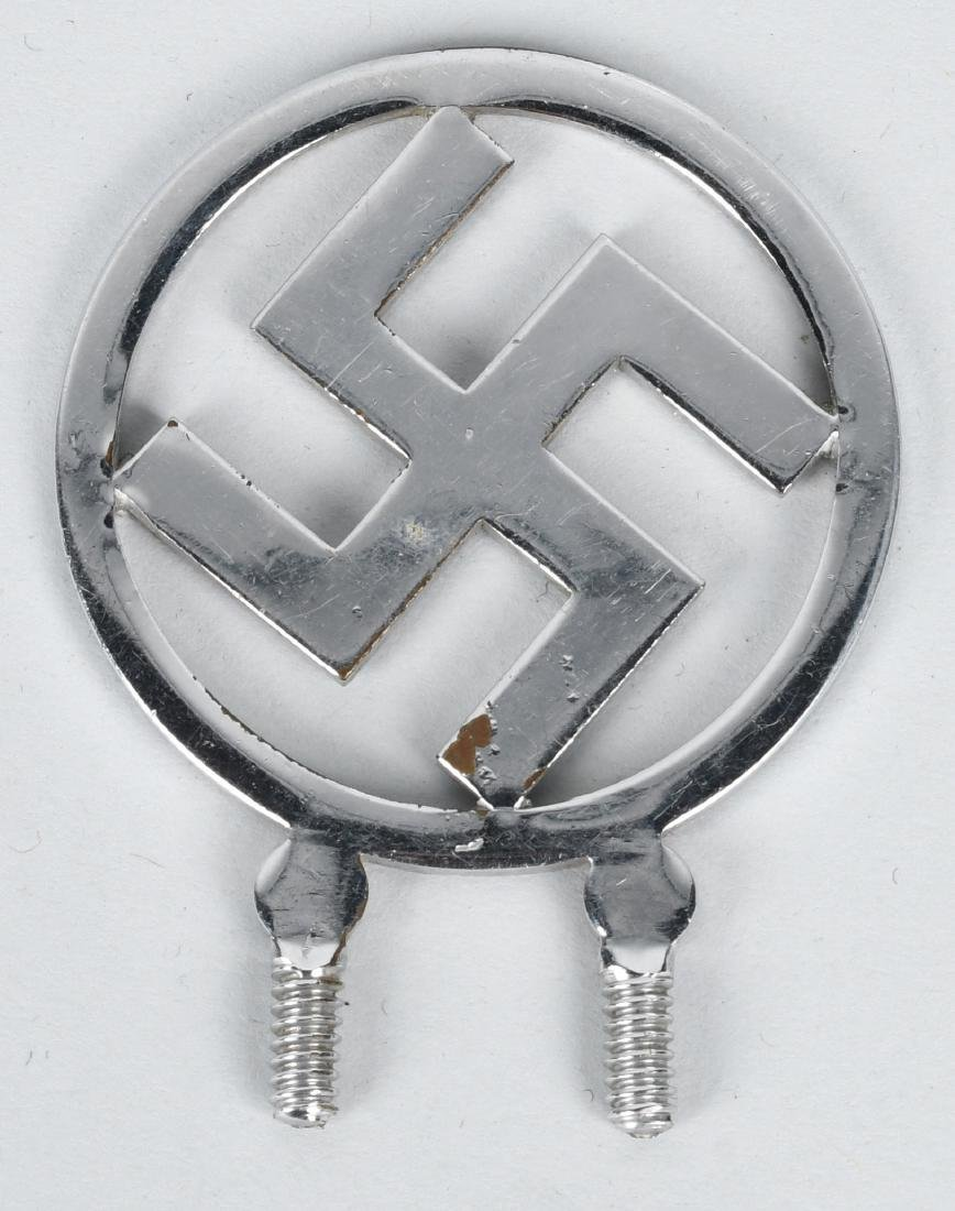 WWII NAZI GERMAN RADIATOR BADGE & PIN LOT - 2