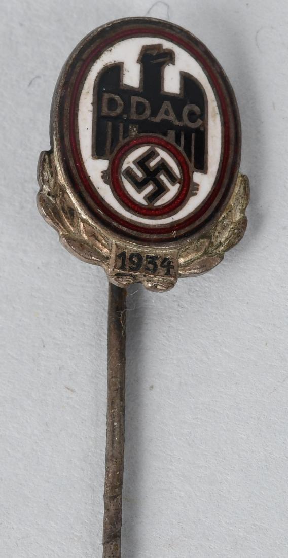 WWII NAZI GERMAN RADIATOR BADGE & PIN LOT - 5