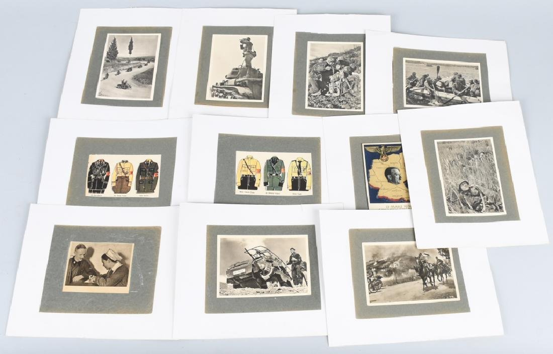 WWII NAZI GERMAN SOLDIER POSTCARD LOT