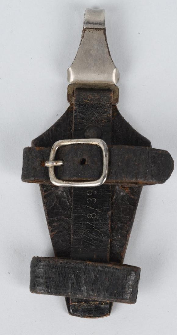 WWII NAZI WAFFEN SS EM VERTICAL DAGGER HANDLE