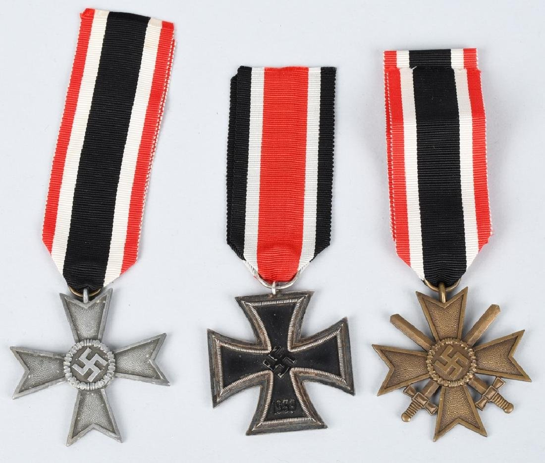 WWII NAZI GERMAN MEDAL LOT