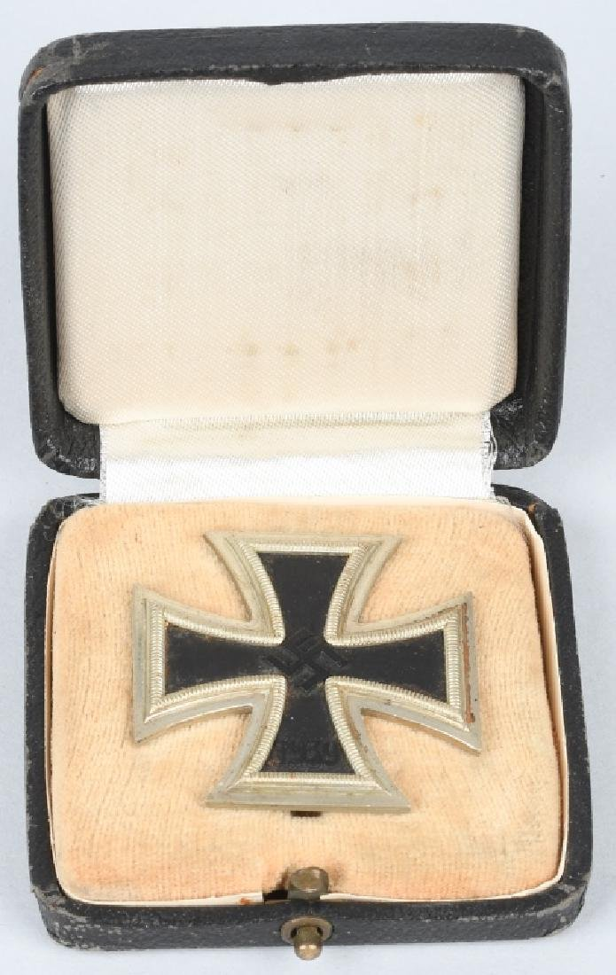 Nazi German WWII Cased 1st Class Iron Cross