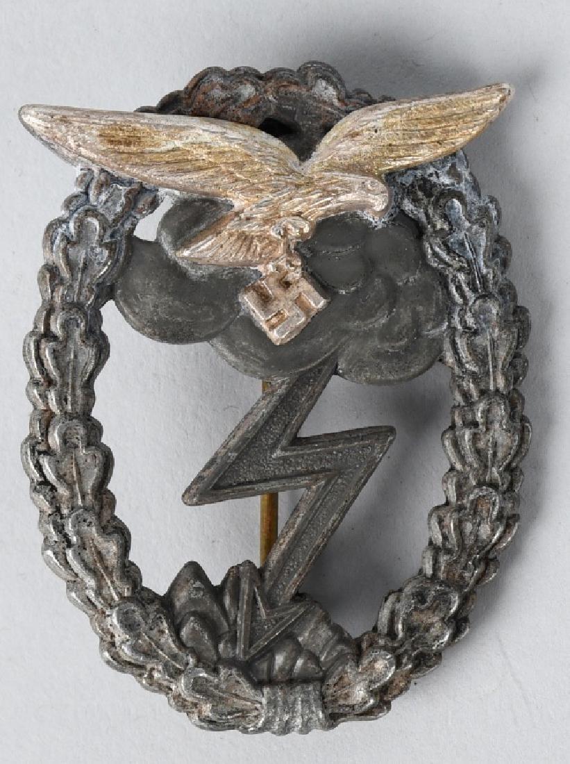 WWII NAZI GERMAN LUFTWAFFE GROUND COMBAT BADGE