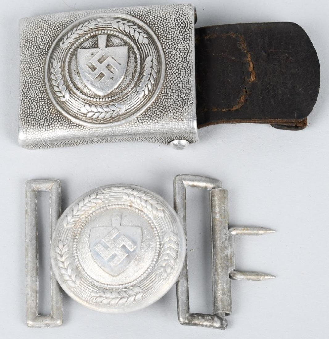 WWII NAZI GERMAN RAD BELT BUCKLE LOT