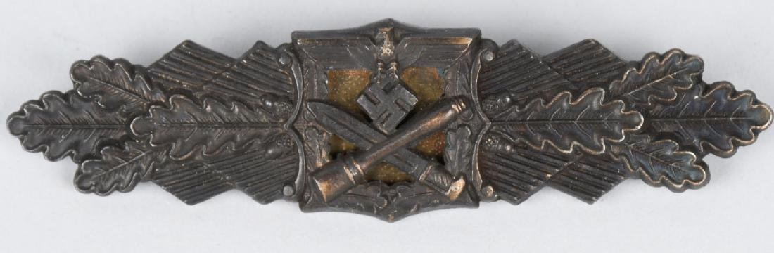 WWII NAZI GERMAN BRONZE CLOSE COMBAT CLASP