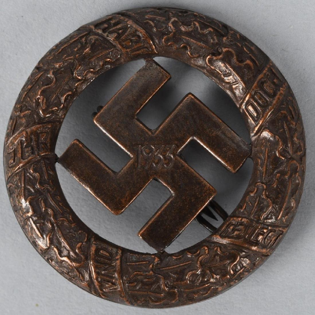 WWII NAZI GERMAN 2ND ISSUE BLOOD ORDER DECORATION