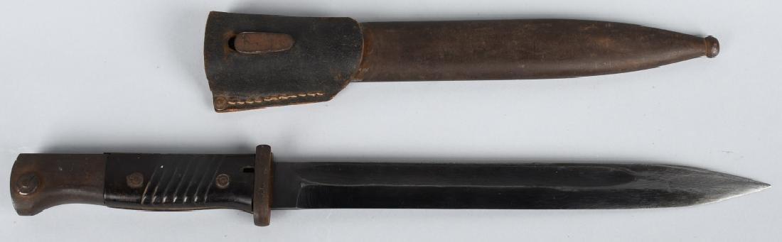 WWII MAUSER K-98 BAYONET & SCABBARD