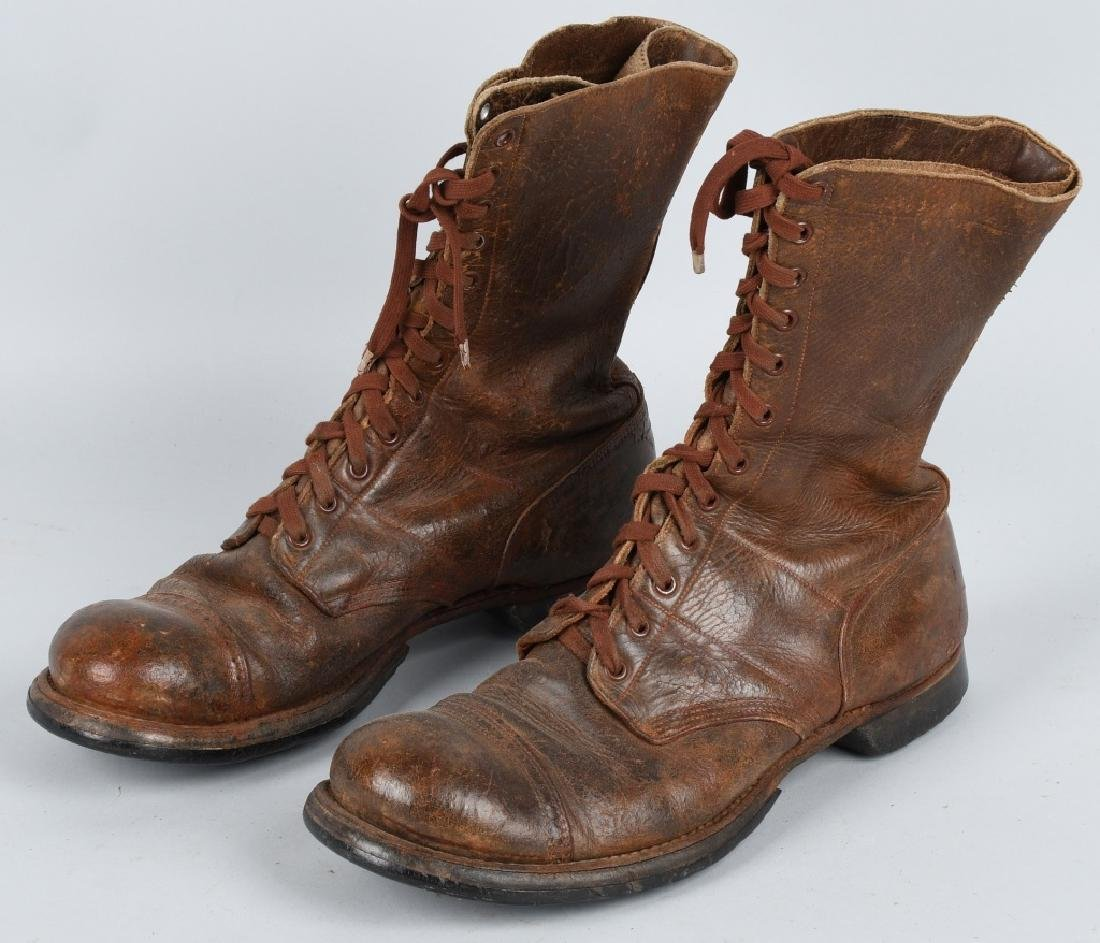 WWII U.S. ARMY AIRBORN PARATROOPER JUMP BOOTS