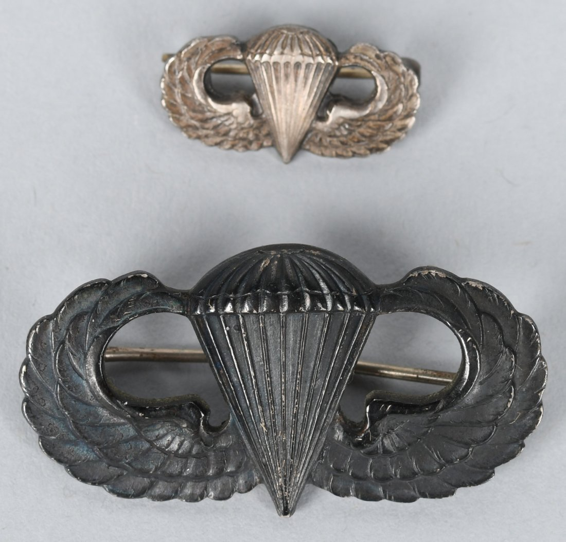 WWII 82ND AIRBORNE GROUP PURPLE HEART JUMP WINGS - 3