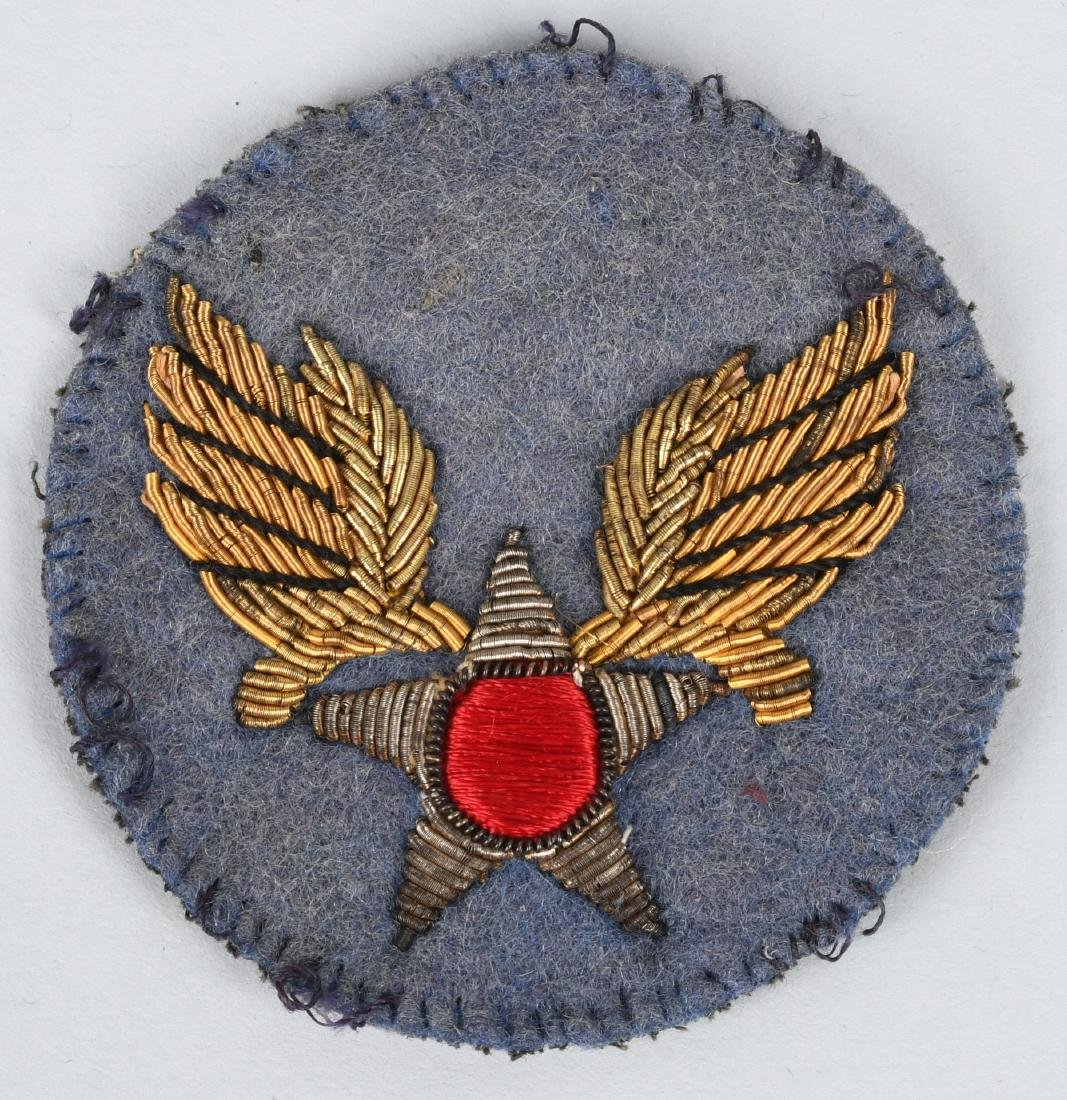 WWII CBI BULLION U.S. ARMY AIR CORPS PATCH LOT - 4