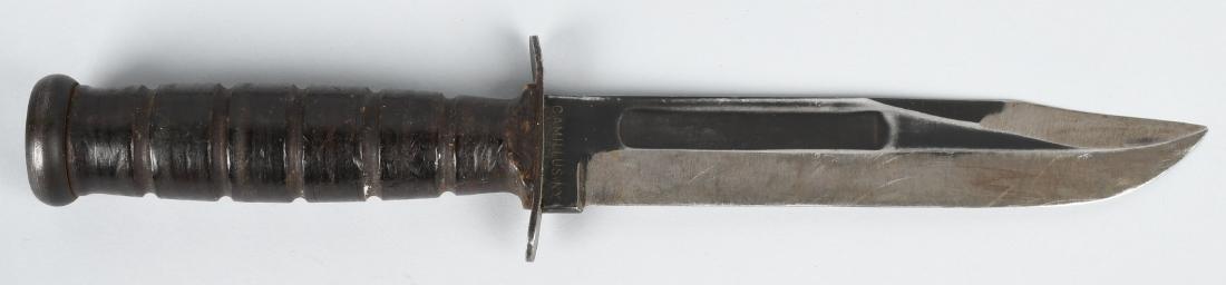 WWII USN CAMILLUS FIGHTING KNIFE, CASE SHEATH - 2