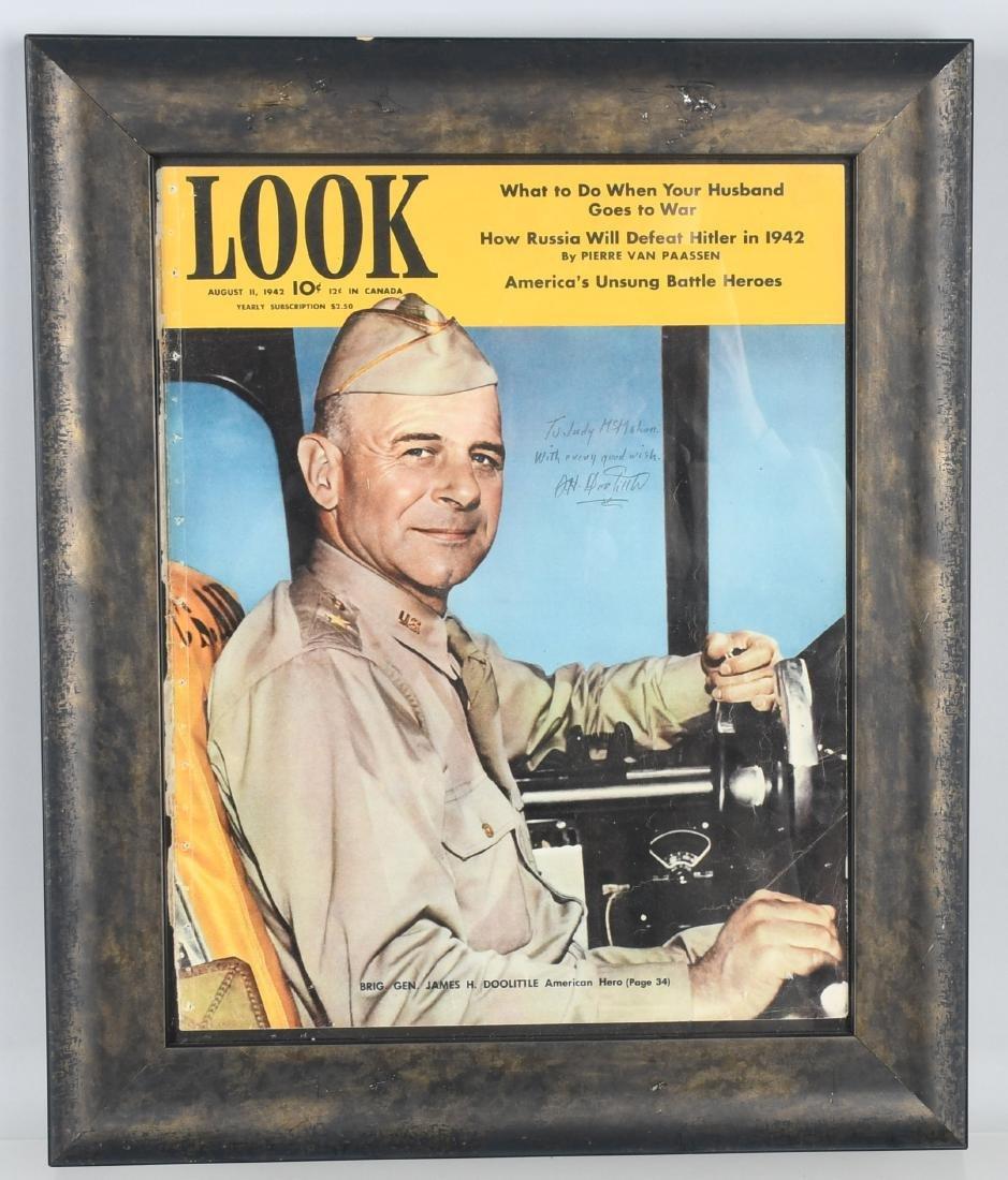 WW2 BRIG. GEN JIMMY DOOLITTLE AUTOGRAPH