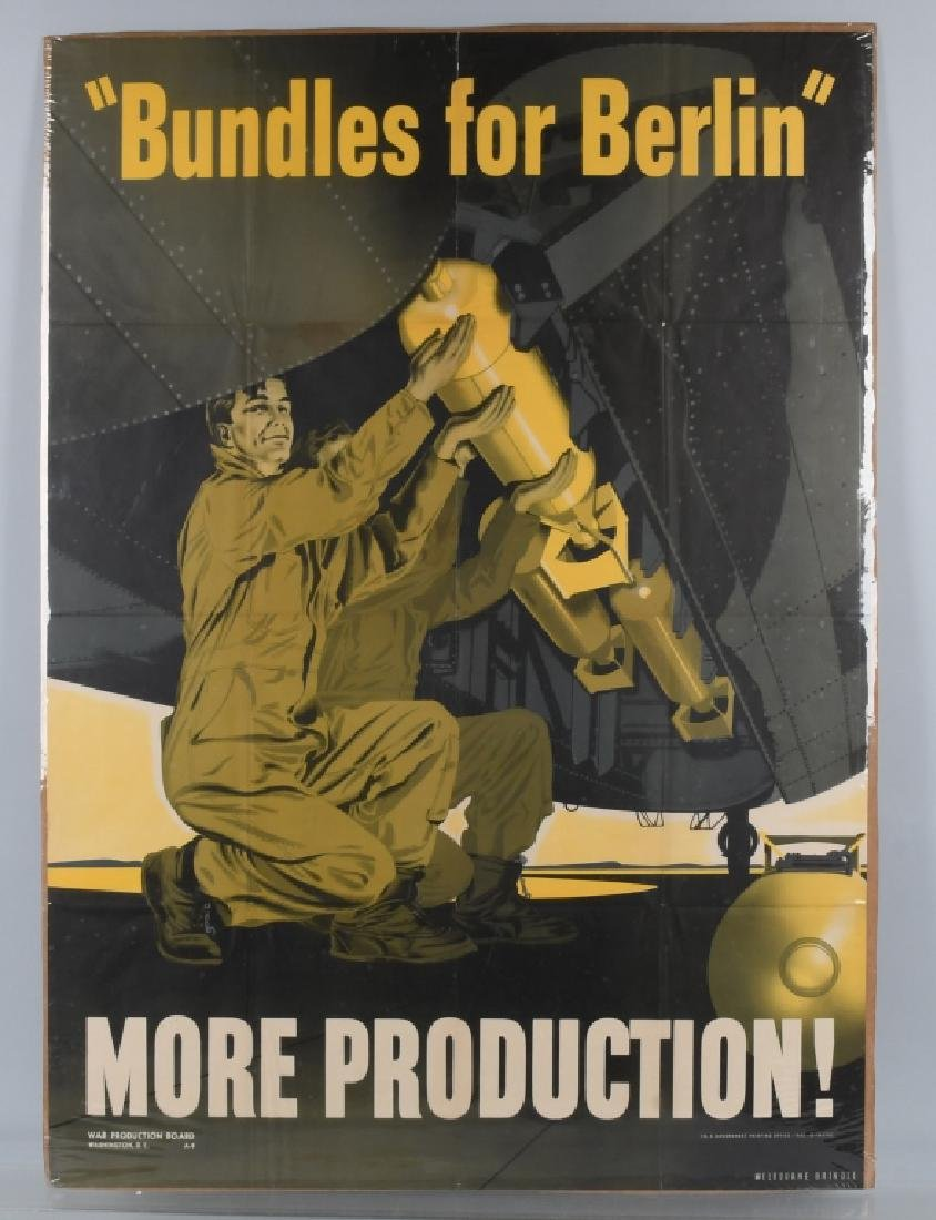 WWII U.S. POSTER BUNDLES FOR BERLIN - 1942