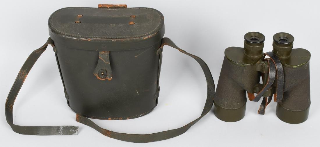 WWII M16 BINOCULARS & CASE MODIFIED FOR VIETNAM
