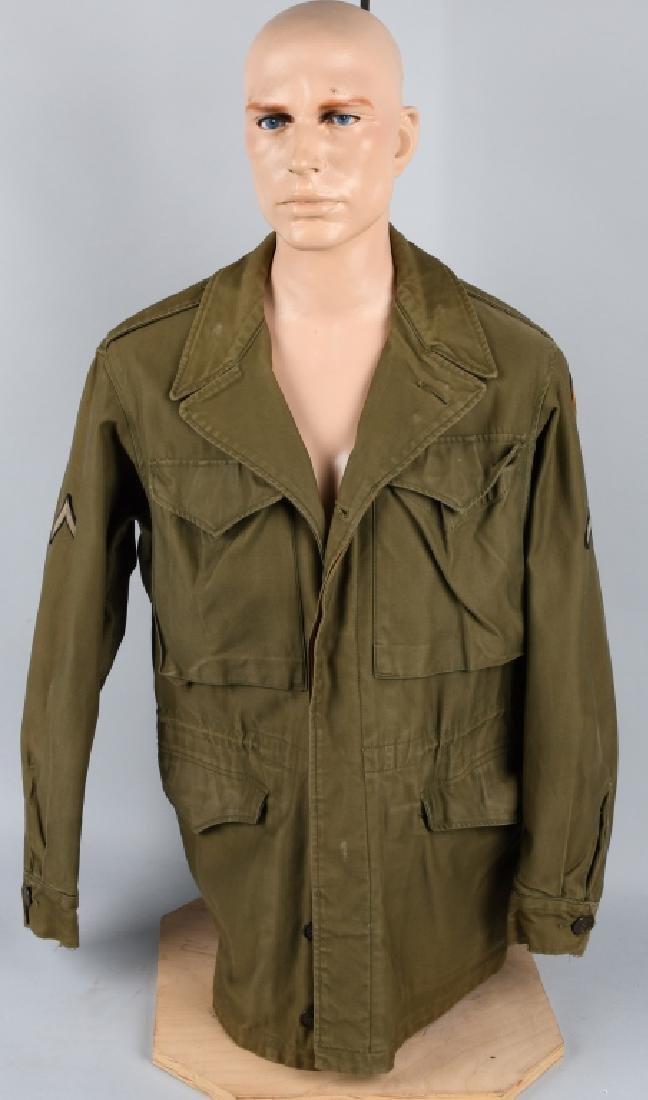 WWII US M43 893RD TANK DESTROYER BAT. FIELD JACKET