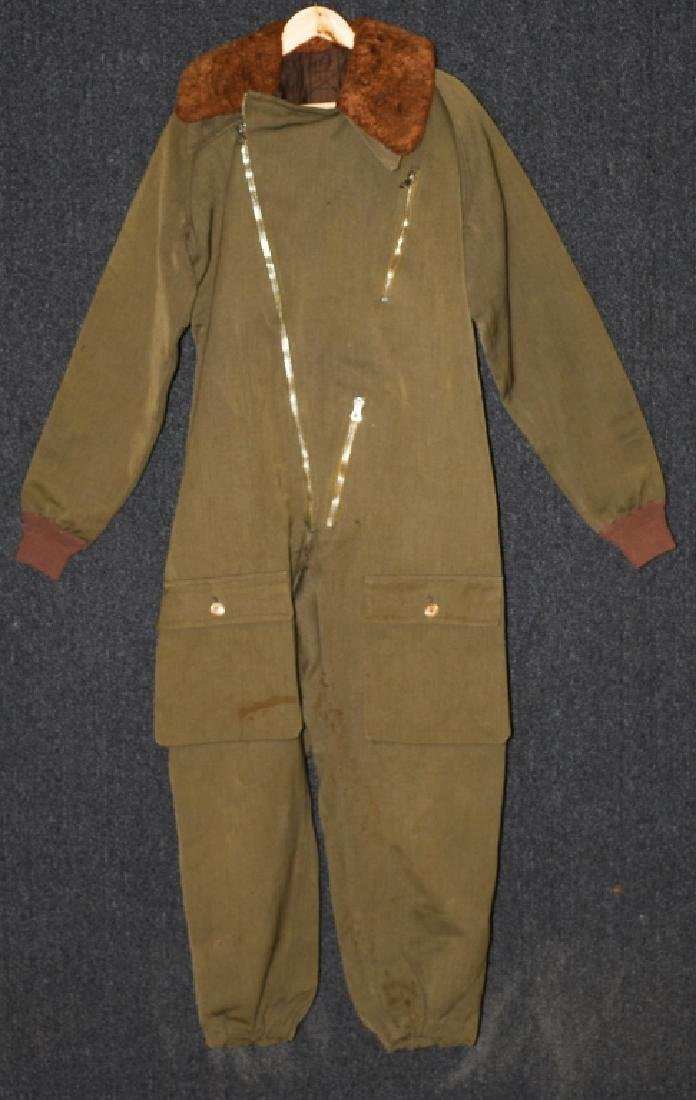 Imperial Japanese WWII Winter Aviator Fighter Suit