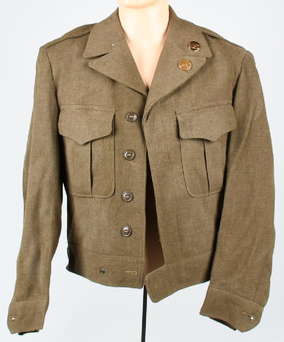 KOREAN WAR ERA IKE JACKET W/ 101ST AIRBORNE PATCH
