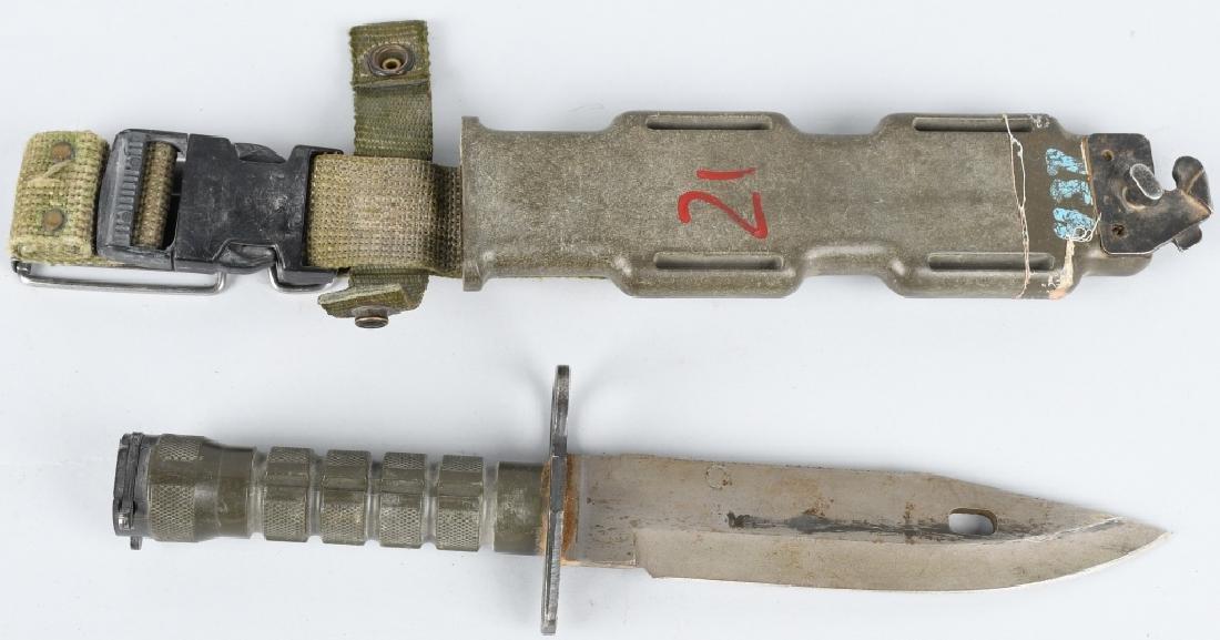U.S. MODEL M9 BAYONET & SCABBARD LANCAY