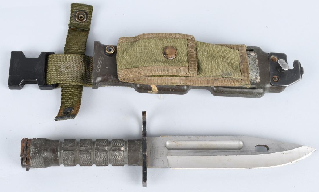 U.S. MODEL M9 BAYONET & SCABBARD PHROBIS III
