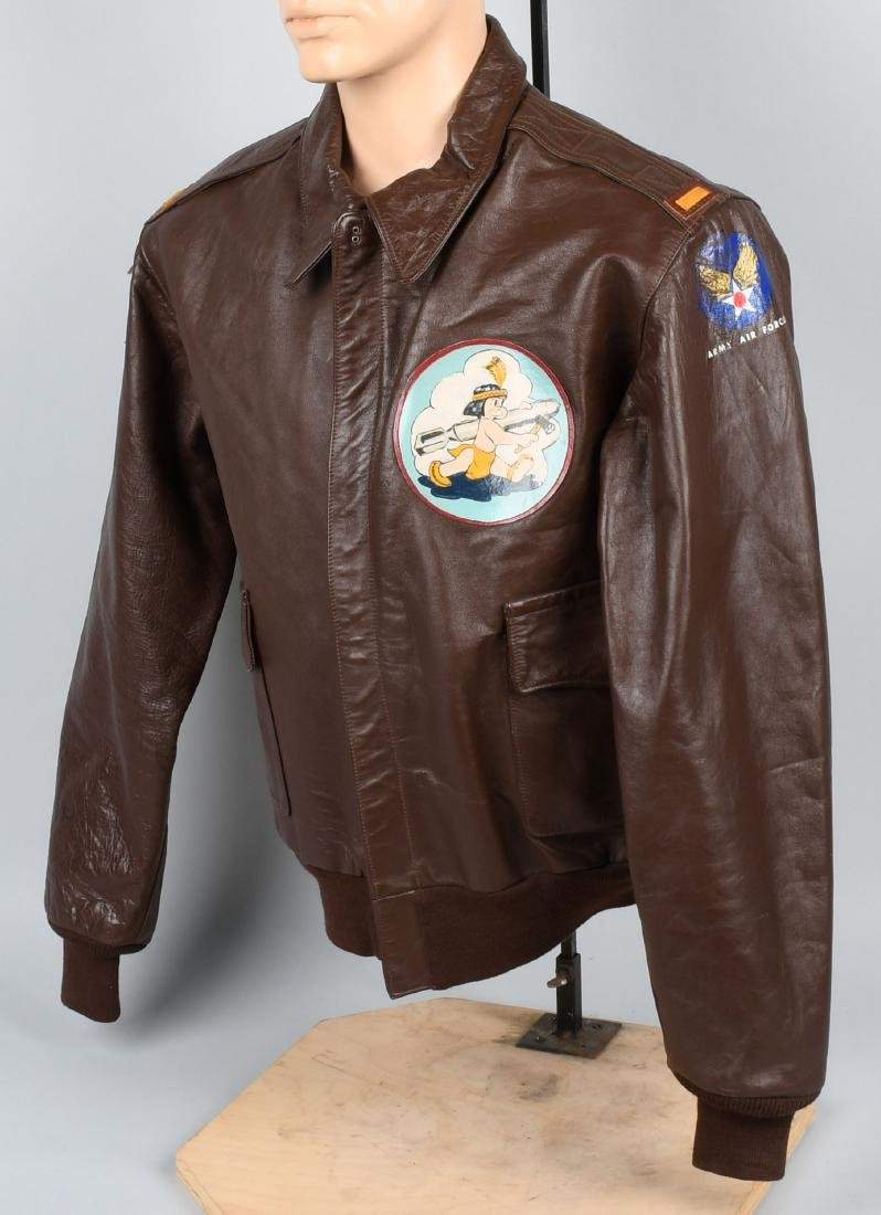 WORLD WAR TWO A-2 PAINTED JACKET - NEW