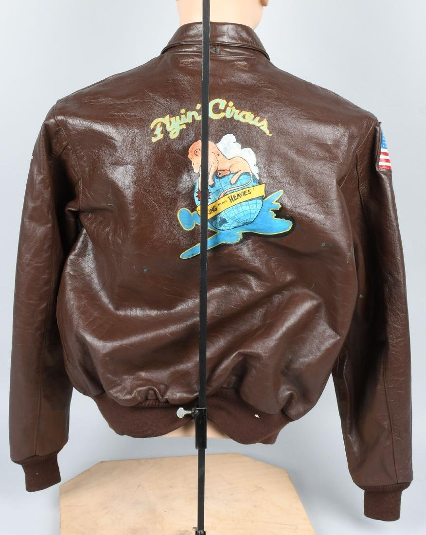 WORLD WAR TWO A-2 PAINTED JACKET - NEW - 5