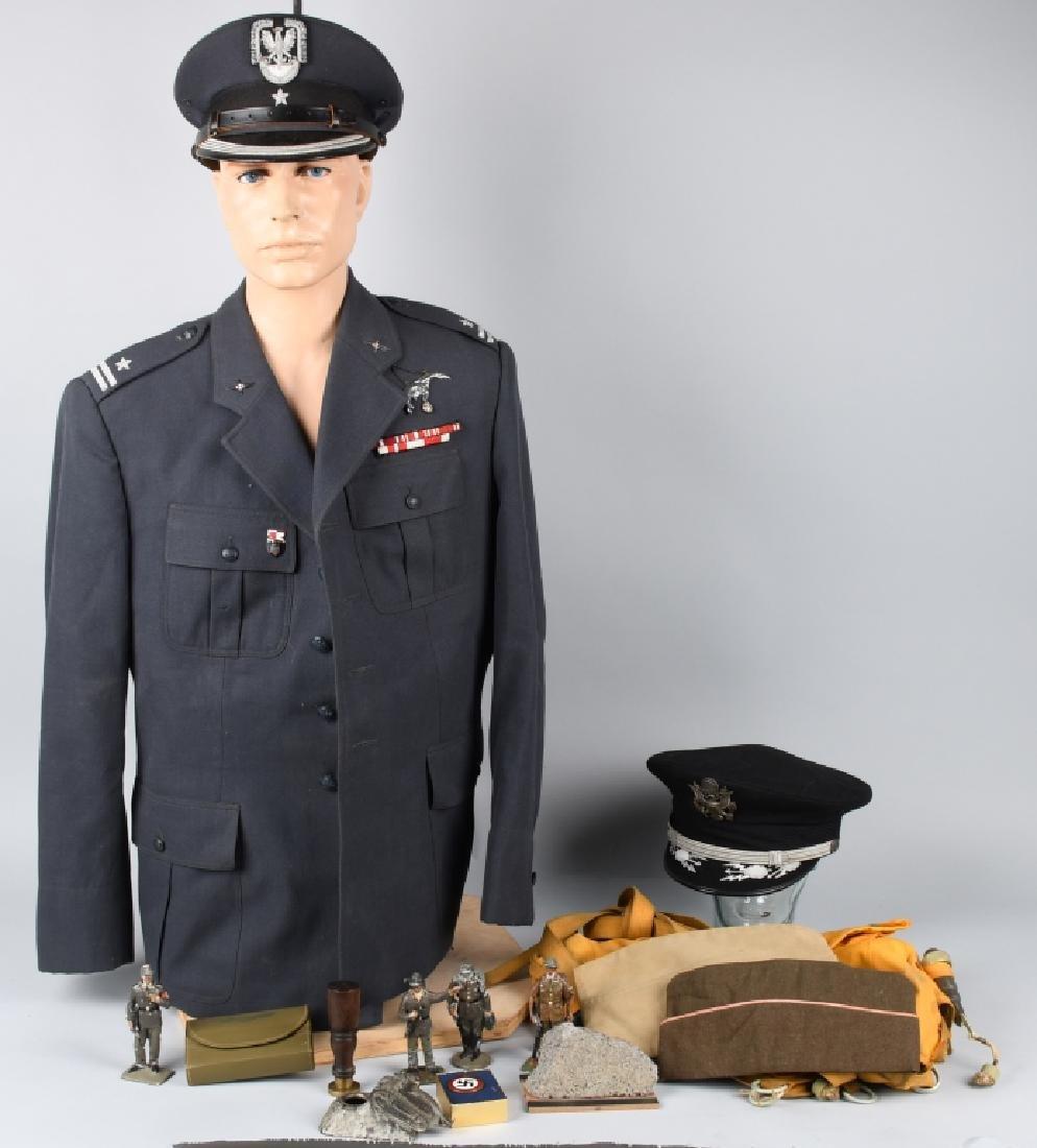 MILITARY LOT - KOREAN WAR, POLISH AF, BERLIN WALL