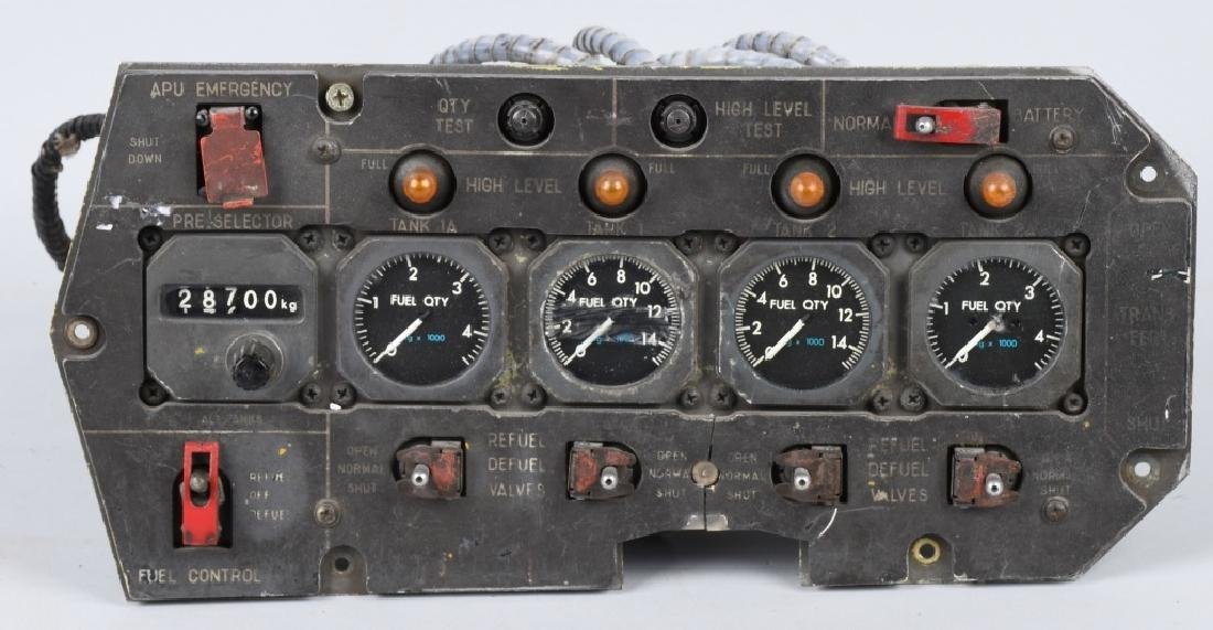 1973 AVIATION GAUGE PANEL