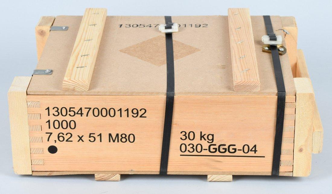 1000 ROUNDS 7.62 X 51mm AMMUNITION
