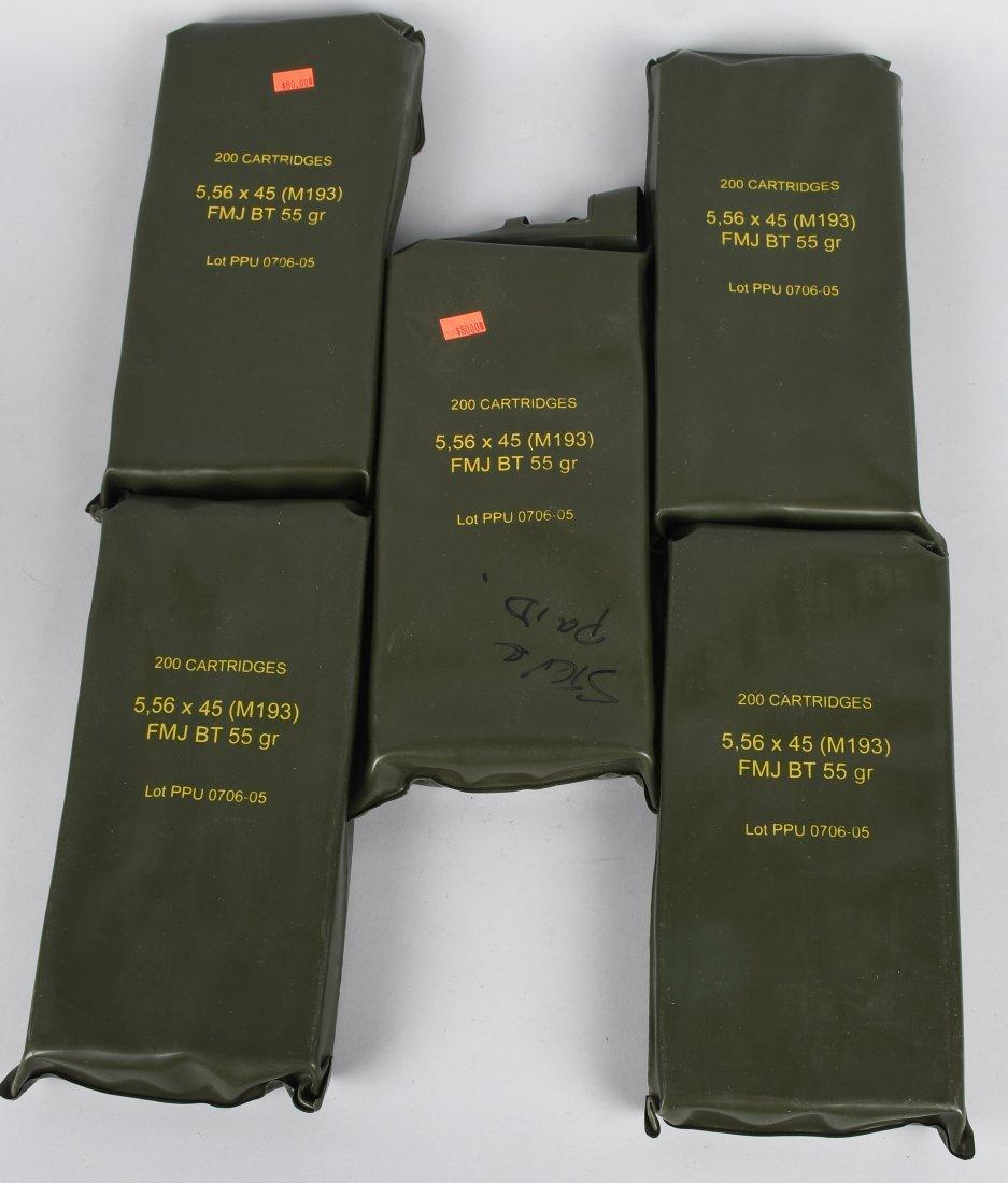 1000 ROUNDS 5.56 X 45mm AMMUNITION