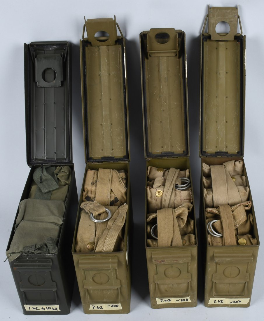 840 ROUNDS 7.62mm AMMUNITION BANDOLIERS