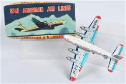 PAN AMERICAN AIRLINES 4PROP AIRPLANE w BOX