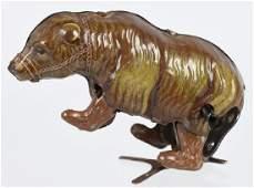 GERMAN Tin Windup CIRCUS BEAR