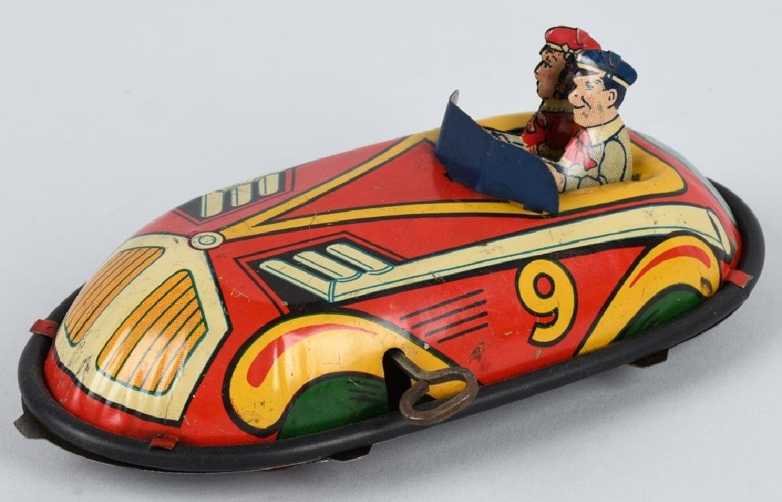 LINDSTROM Tin Windup BUMPER CAR