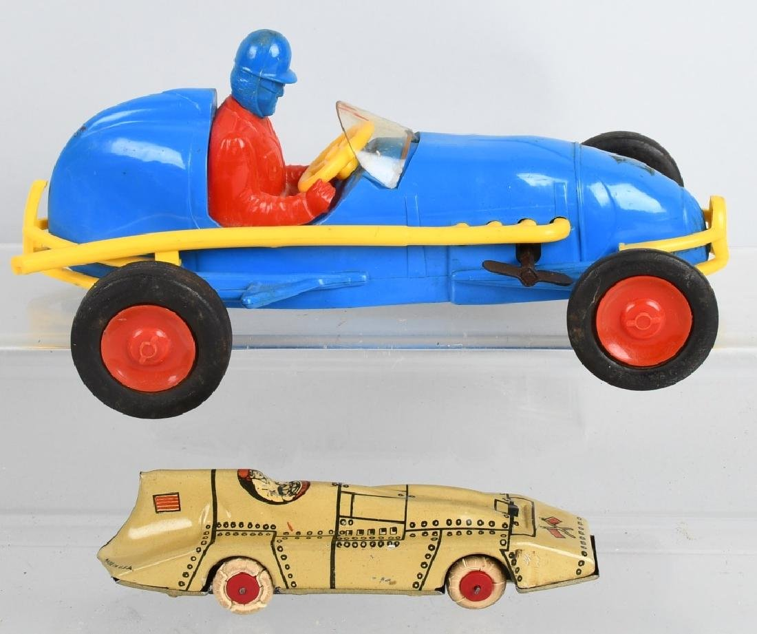 LINDSTROM & NOSCO windup RACE CARS