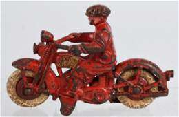 HUBLEY Cast Iron CIVILIAN SOLO MOTORCYCLE