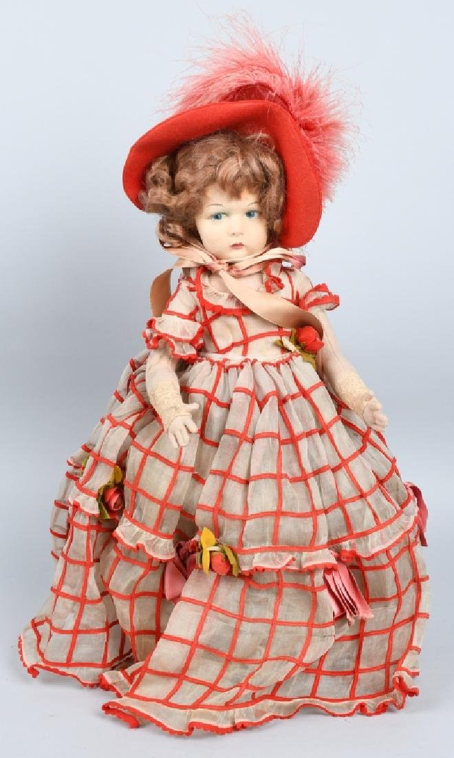 ITALIAN LENCI CHILD DOLL 19""
