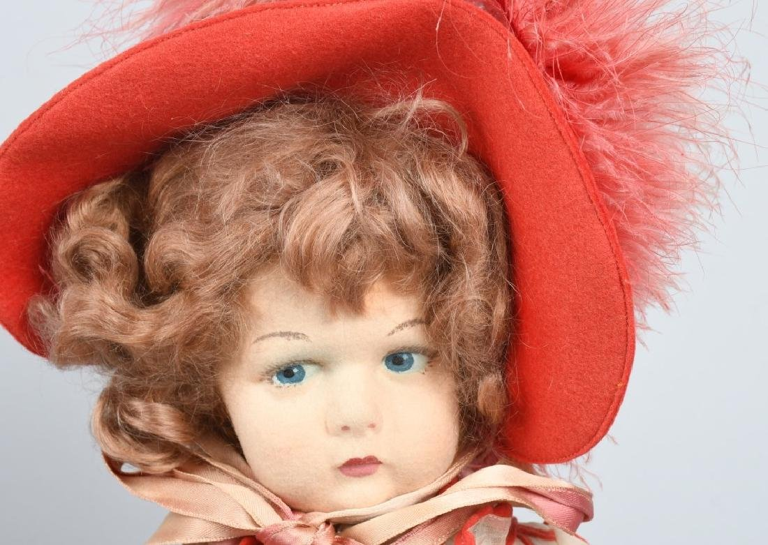 "ITALIAN LENCI CHILD DOLL 19"" - 2"