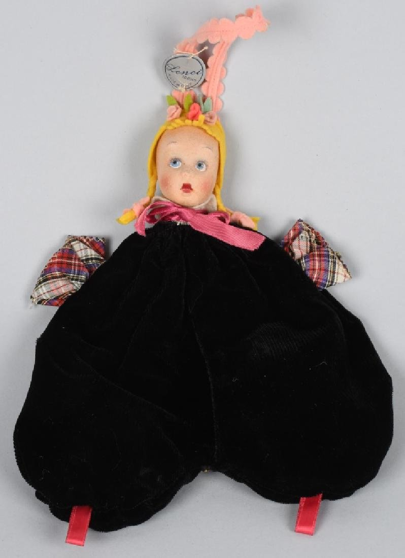 "LENCI DOLL CHILD""S PURSE with TAG"