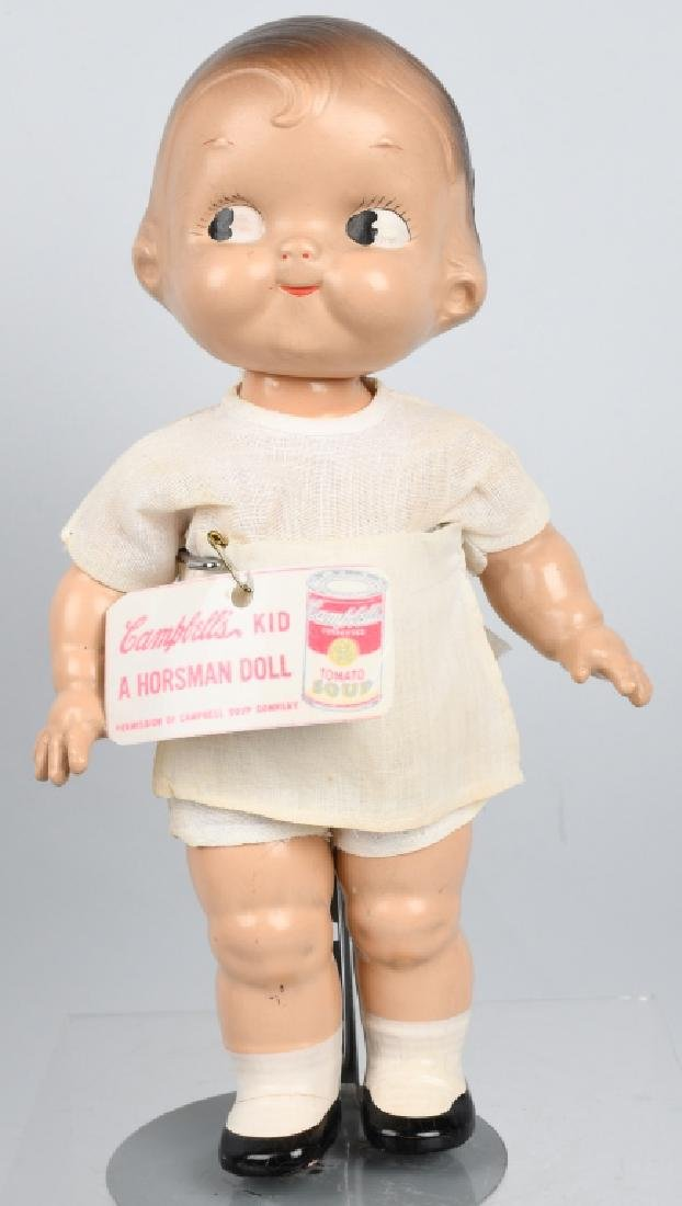 1930's-40's HORSMAN CAMPBELL'S SOUP KID DOLL