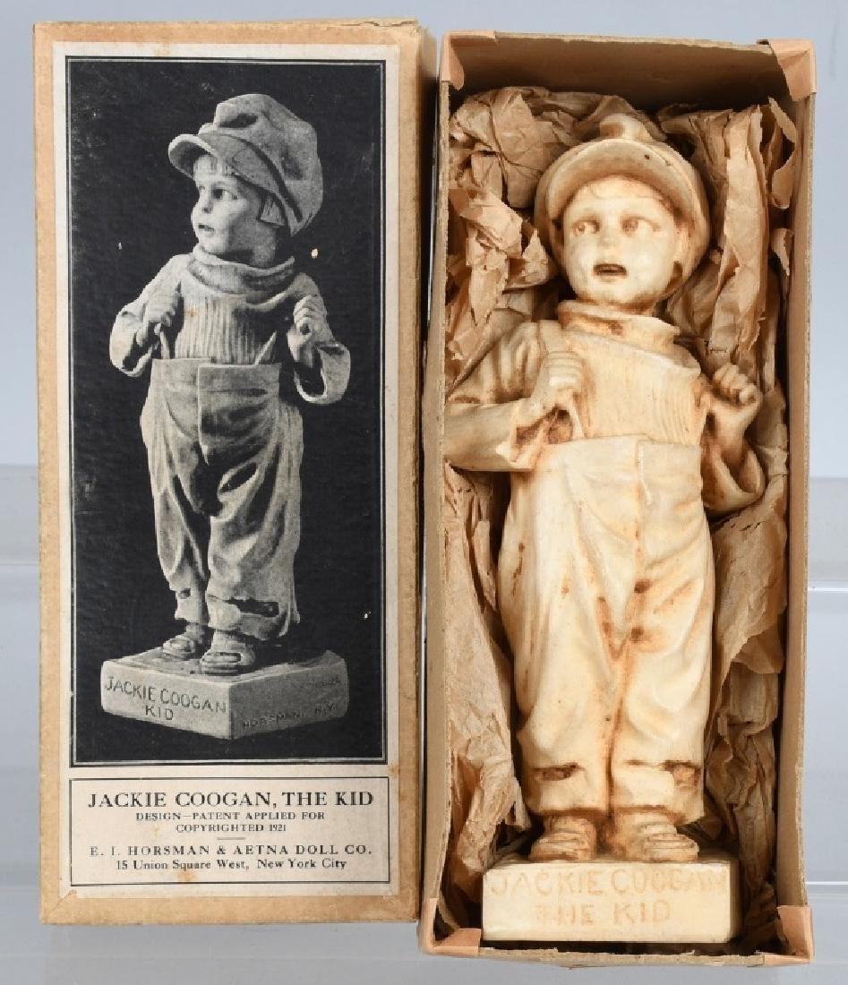 1921 JACKIE COOGAN the KID CHALK FIGURE, BOXED