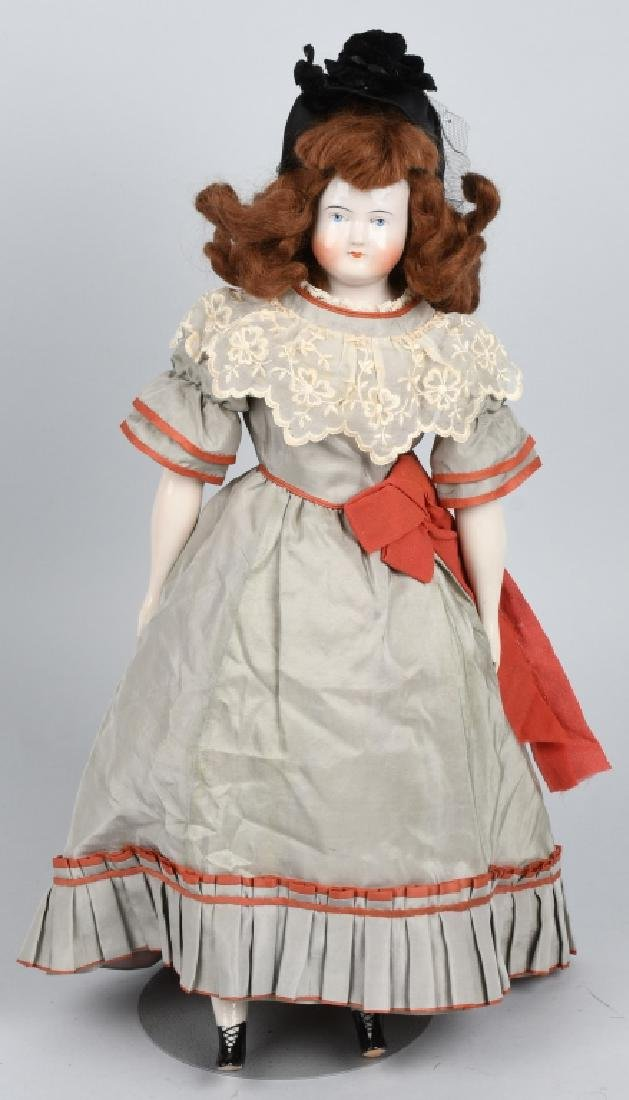 1830-1850 BIEDERMEIER CHINA DOLL