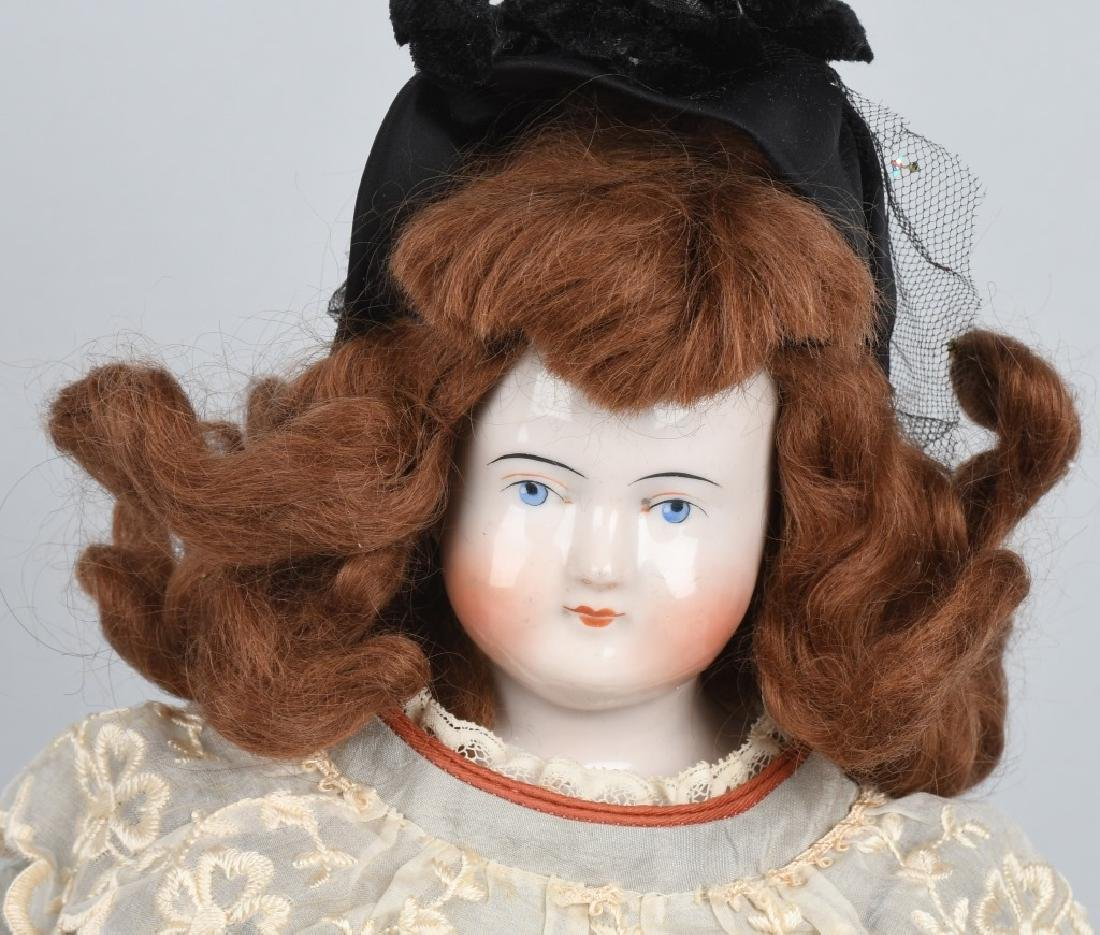 1830-1850 BIEDERMEIER CHINA DOLL - 2