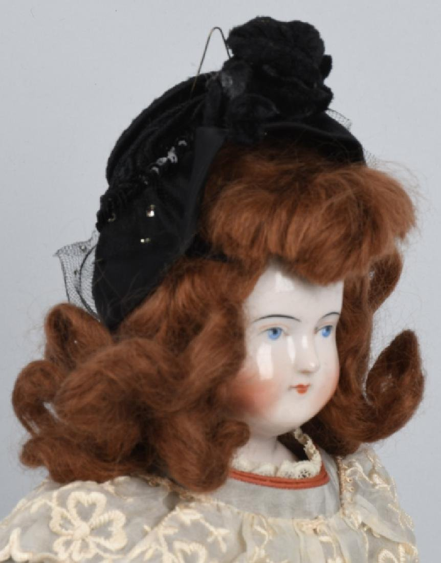 1830-1850 BIEDERMEIER CHINA DOLL - 5